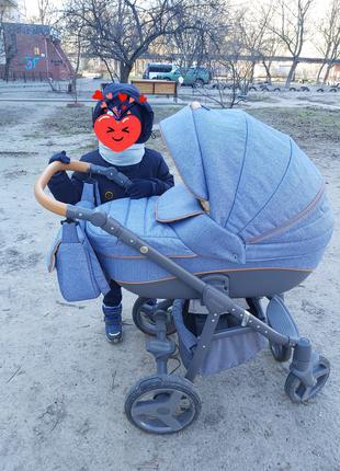 Детская коляска Adamex 2 в 1