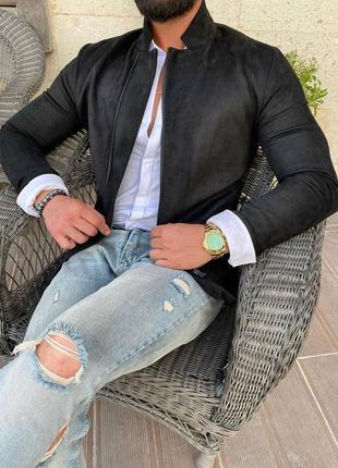 Стильный бомбер на весну мужская одежда осень весна куртка