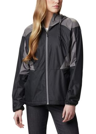 Лёгкая утеплённая ветровка куртка columbia xl с omni shade дос...