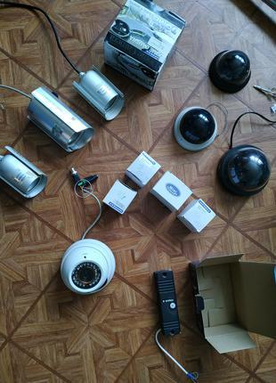 Цветная купольная камера NOVUS, PARTIZAN, и мини камеры