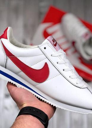 Шикарные мужские кроссовки nike classic cortez (весна/ лето/ о...