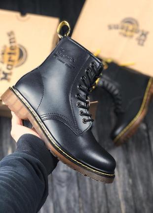 Шикарные ботинки dr. martens black 😍 демисезонные {мужские/ же...