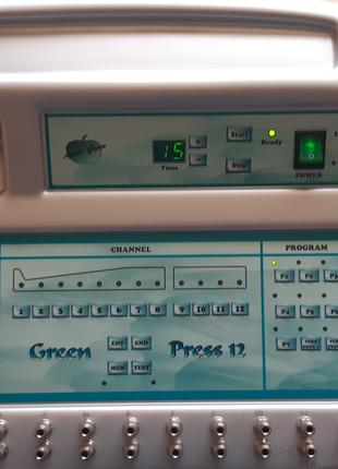Продам аппарат лимфодренаж Green Press 12
