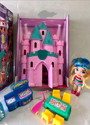 Детский набор замок и аксессуары