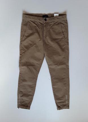 Микровельветовые штаны slim