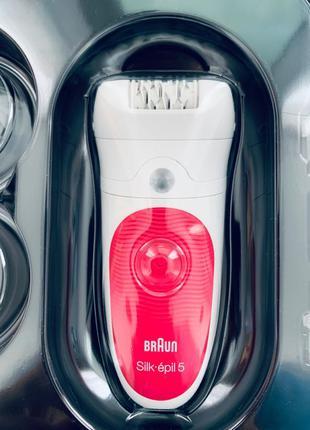 Braun silk epil 5 епилятор,депилятор!Новий
