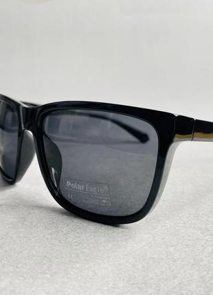 Очки мужские солнцезащитные с поляризацией глянцевые