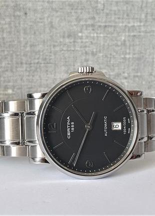 Мужские часы certina c017.407.11.057.00 automatic 100m sapphire