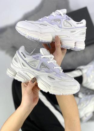 Шикарные женские кроссовки adidas raf simons white 😍 (весна/ л...