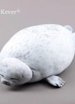 Игрушка - подушка тюлень, отличный подарок