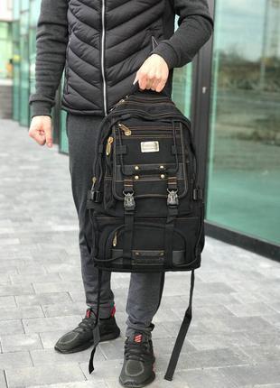 Рюкзак gold be черный туристический женский / мужской