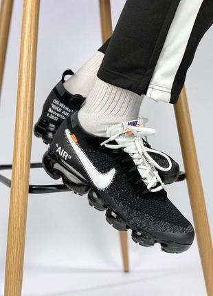Шикарные мужские кроссовки nike vapormax x off white(весна/ ле...