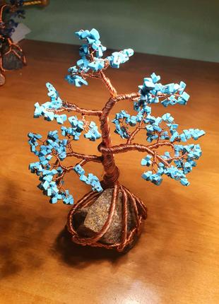 Дерево счастья. Бирюза
