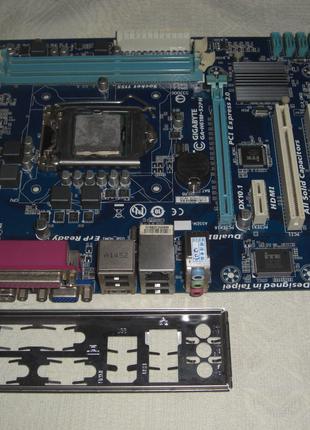 плата Socket 1155 Gigabyte GA-H61M-S2PH HDMI