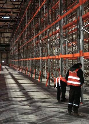 Демонтаж всех типов складских, торговых Стеллажей по всей Украине