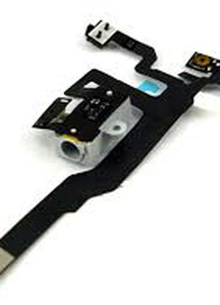 Шлейф для Apple iPhone 4S Original Black Кнопки регулировки громк