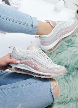 Шикарные женские кроссовки nike air max 97 pink 😍 (весна/ лето...