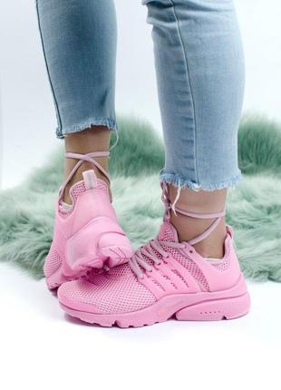 Шикарные женские кроссовки nike air presto white 😍 (весна/ лет...