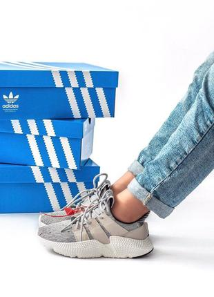 Шикарные женские кроссовки adidas prophere grey 😍 (весна/ лето...
