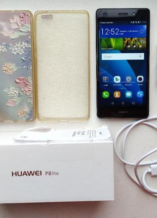 Мобильный телефон Huawei P8 Lite ALE-L21 2/16Gb