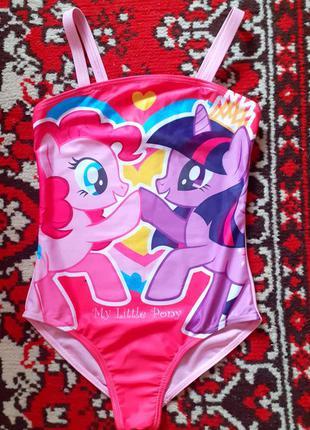 Купальник для девочки my little pony