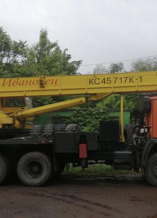 Автокран 25т