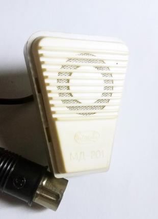 Микрофон МД-201 СССР комплект 2 шт.