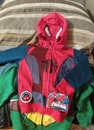 Новая кофта спайдермен Marvel