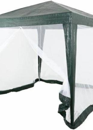 Шатер садовый 3х3 с москитной сеткой (тент - полипропилен).