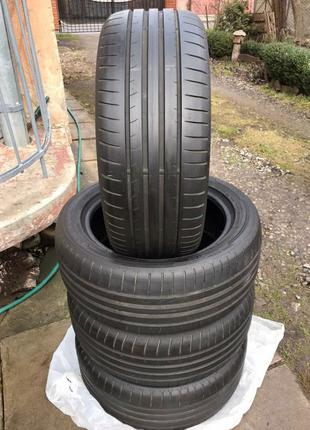 Dunlop 225/50 R17 Sport BluResponse резина шины шини колеса