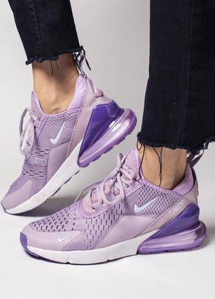 Шикарные женские кроссовки nike air max 270 purple 😍 (весна/ л...