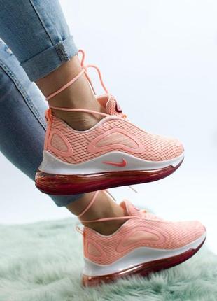 Шикарные женские кроссовки nike air max 720 pink 😍 (весна/ лет...