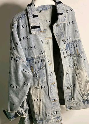 Джинсовая женская курточка