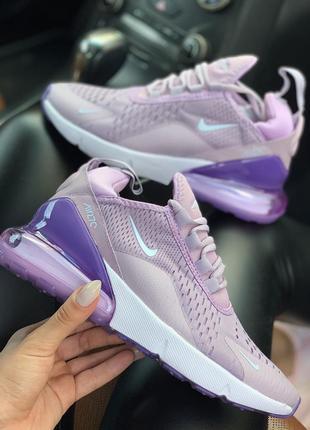 Шикарные женские кроссовки nike air max 270 pink 😍 (весна/ лет...