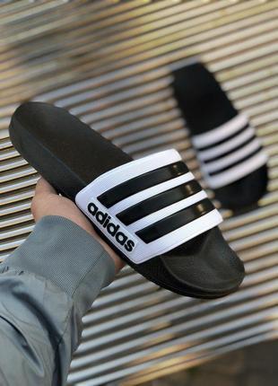 Шикарные мужские летние тапочки/ шлёпанци adidas 😍