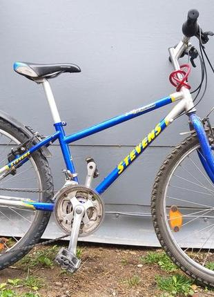 Германский велосипед Stevens  колеса 24 дюйма