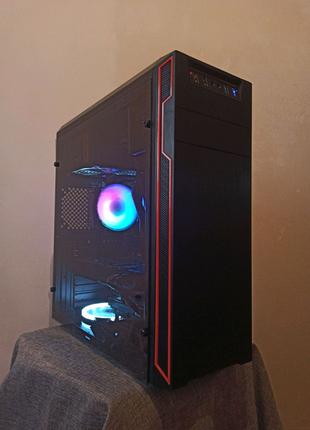 Компьютер | ПК, AMD FX4100 3.6 GHz GTX 570 1.28gb ОЗУ DDR3 8gb