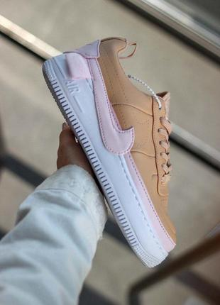 Шикарные женские кроссовки nike air force jester biege/pink 😍 ...