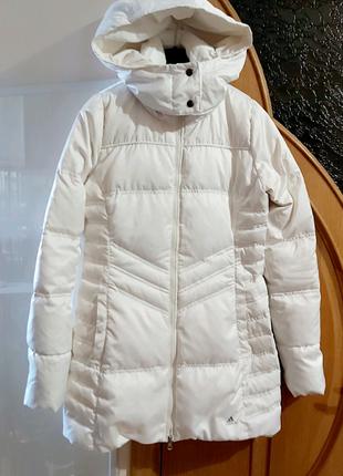 Куртка Adidas пуховик женский