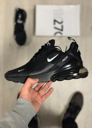 Шикарные мужские кроссовки nike air max 270 full  black 😍 (вес...