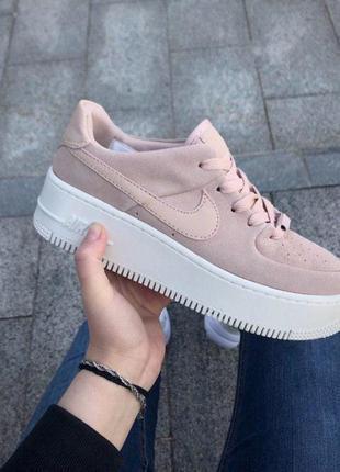 Шикарные женские кроссовки nike air force 1 sage low pink 😍 (в...