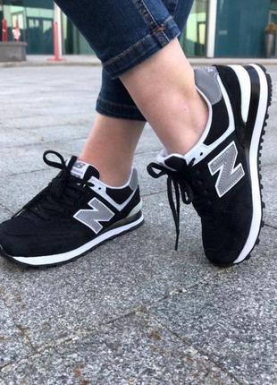 Шикарные женские кроссовки  new balance black reflective  😍 (в...