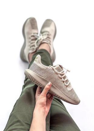 Шикарные женские кроссовки adidas tubular beige 😍 (весна/ лето...