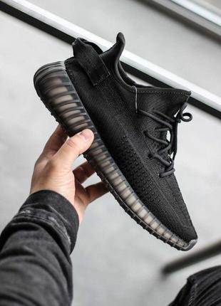 Шикарные мужские кроссовки adidas yeezy boost 350 v2 black 😍 (...
