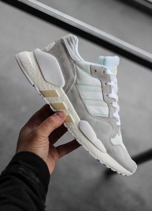 Шикарные мужские кроссовки adidas zx930 x eqt white 😍 (весна/...