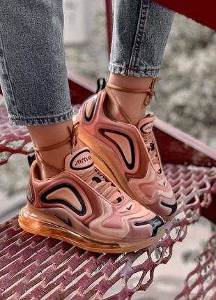 Шикарные женские кроссовки nike air max 720 gold 😍 (весна/ лет...
