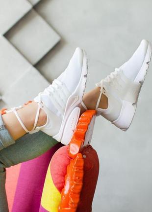 Шикарные женские кроссовки nike air presto full white 😍 (весна...