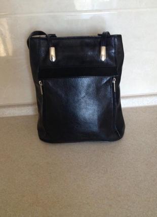 Сумка рюкзак трансформер женская кожа