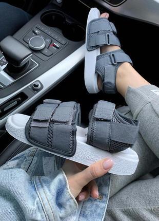 Шикарные женские сандали/ босоножки на платформе adidas adilet...