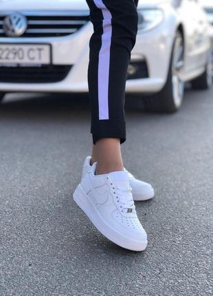 Шикарные женские кроссовки nike air force 1 low full white 😍 (...